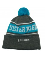 Ulster Rugby Bobble Hat - Marl / Blue Bobble (2019-2020)