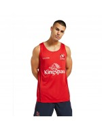 Men's Ulster Rugby Technical Athletic Fit Gym Vest - Red (2021-2022)