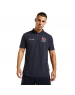 Men's Ulster Rugby Leisure Polo Shirt - Navy (2021-2022)