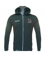 Kid's Ulster Rugby Performance Hoody - Charcoal (2018-2019)