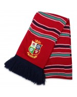 British & Irish Lions Rugby Acrylic Scarf - Red