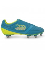 Phoenix Club 8 Stud Rugby Boot (Atomic Blue/Safety Yellow)