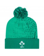 Ireland Rugby Bobble Hat - Bosphorus Green (2018-2019)