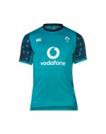 Kid's Ireland Rugby Vapodri Drill Tee - Tile Blue (2018-2019)