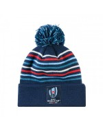 RWC Rugby Bobble Hat - Navy (RWC 2019)