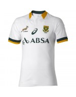South Africa Springbok Away Fan Rugby Shirt 2014-2015