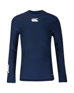 Kid's Thermoreg Long Sleeve Baselayer (Navy Blue)