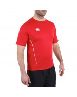 Team Dry Performance Gym Tee Shirt - Red