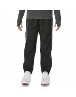 Girl's Tapered Cuff Woven Pants (Jet Black)