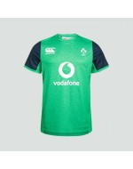 Teen Ireland Rugby Vapodri Drill Tee - Green Marl  (2019-2020)