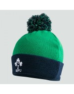 Ireland Rugby Bobble Hat - Green/Navy (2019-2020)