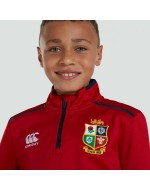 Kid's British & Irish Lions Rugby 1/4 Zip
