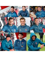 Ulster Rugby Players Full Zipped Blast Fleece Hoody