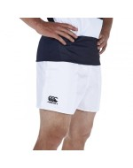 Professional Polyester Rugby Short (White)