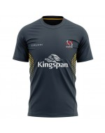 Men's Ulster Rugby Technical Athletic Fit Tee - Asphalt (2020-2021)