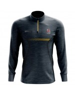 Kid's Ulster Rugby 1/4 Zip Light Blast Fleece (2020-2021)