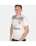 Men's Ulster Rugby Performance Athletic Fit Tee - White (2017-2018)