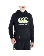 Boy's CCC Logo Hoody (Black Marl/Yellow)