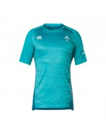 Ireland Rugby Gym Tee - Tile Blue (2018-2019)