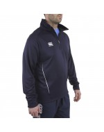 Team 1/4 Zip Mid Layer Training Top  - Navy
