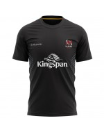 Men's Ulster Rugby Technical Athletic Fit Tee - Black (2020-2021)