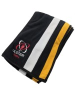 Ulster Rugby Scarf - Black/Yellow v2 (2020-2021)